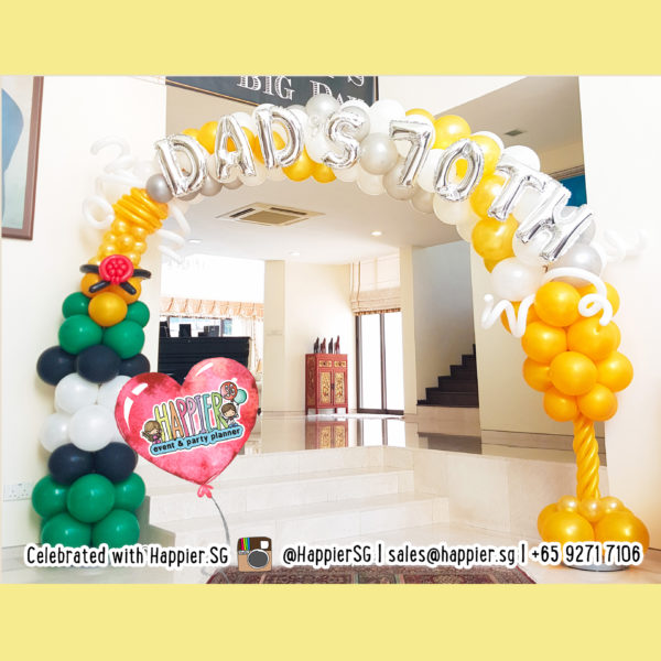 88th-birthday-balloon-decoration