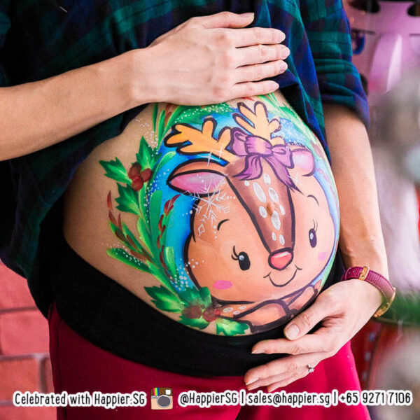 Belly painting singapore