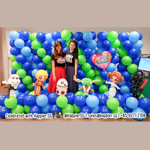 Boys Birthday Balloon Decoration