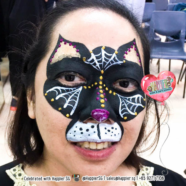 Cats Face Paint Makeup Artist