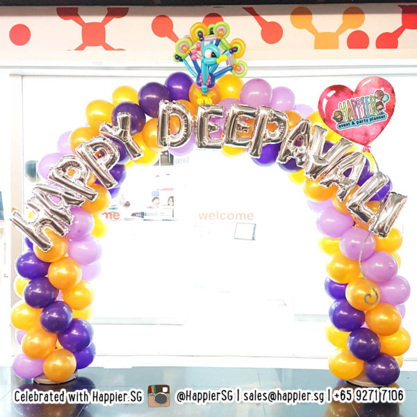 Deepavali Balloon Decoration