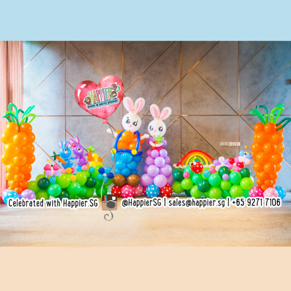 Easter Balloon Decoration