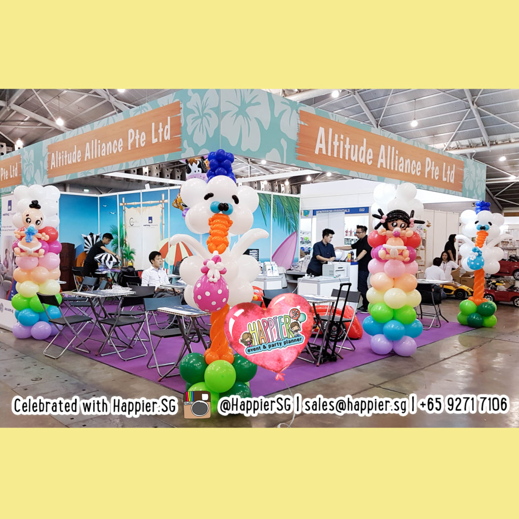 Exhibition Booth Design | Happier Singapore