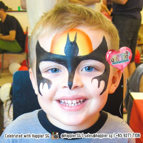 Face Painting Services | Best Face Painters in Singapore | Happier