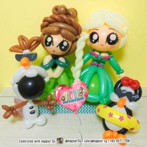 Gift Balloon Sculptures