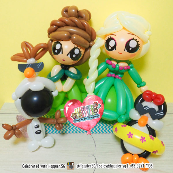 Frozen Fever Balloon Sculpture Decoration