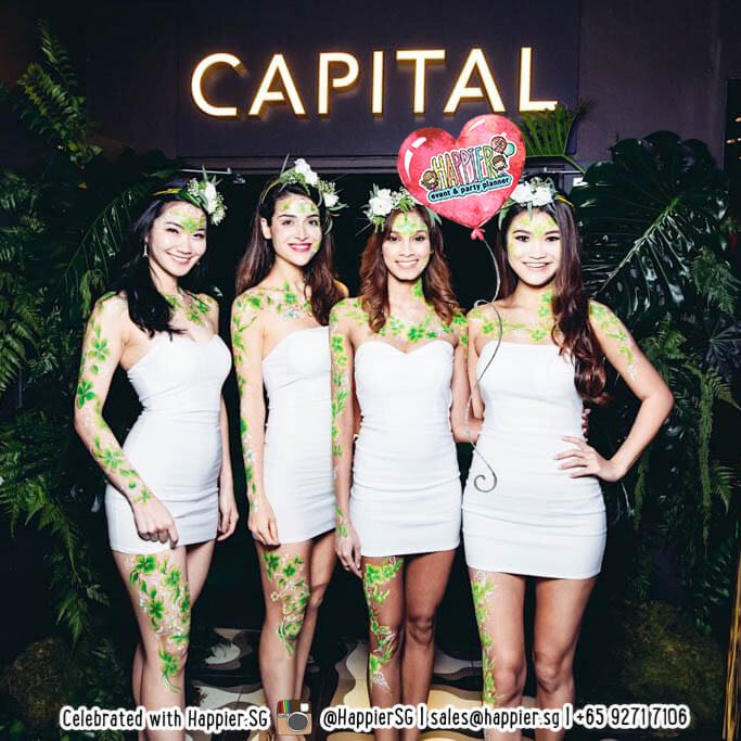 Body Painting Full Body Paint Makeup Artist Happier Singapore