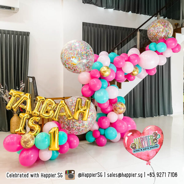 Girl 1st Birthday Party Decorations