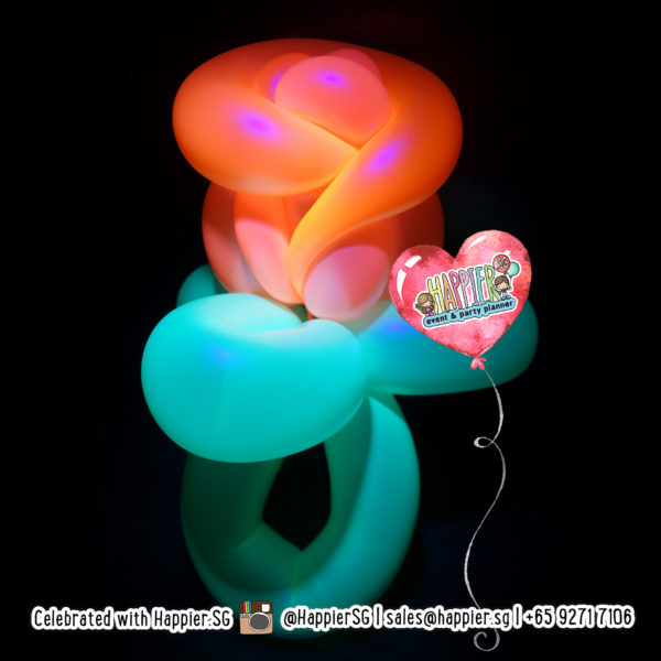 Glow in the Dark UV Balloon Sculpting