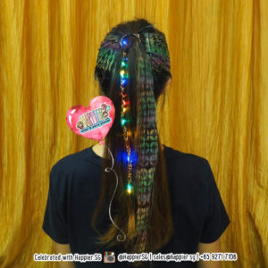 Hair Tattoo Beading Braiding