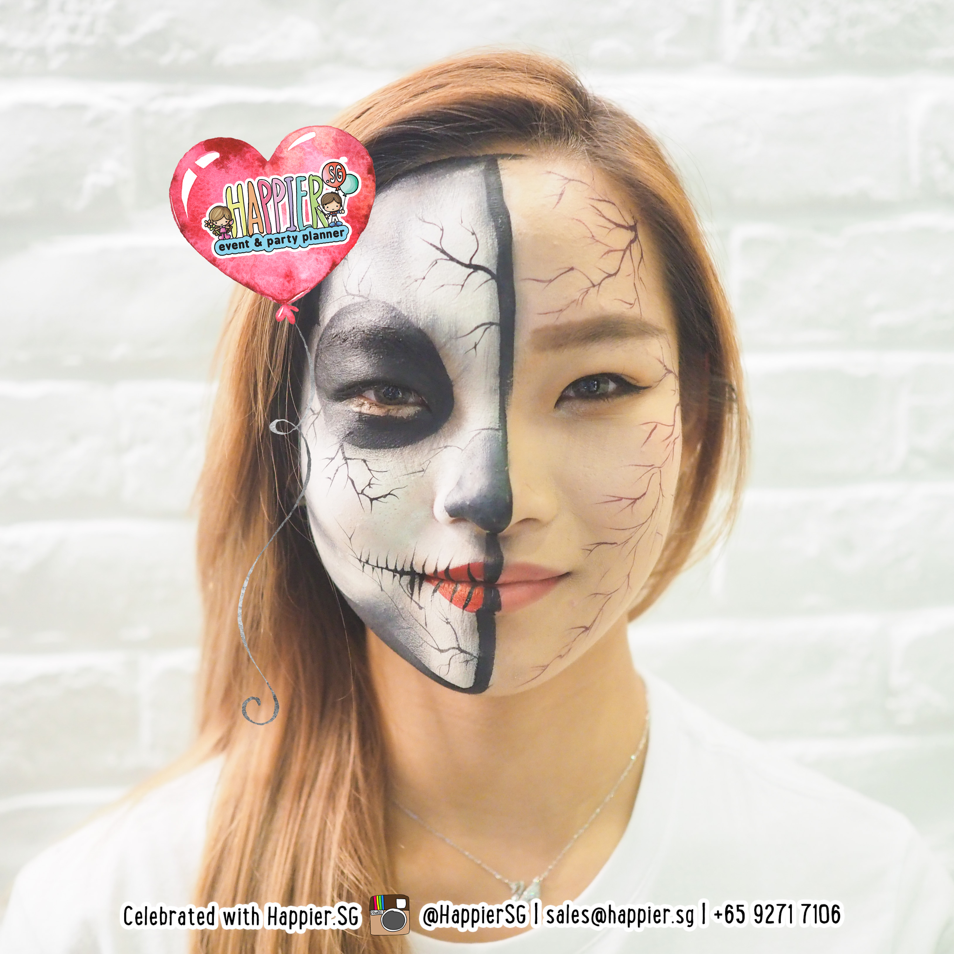 Paint Booth Rental >> Halloween Makeup Artist | Special Effects Face Paint | Happier Singapore