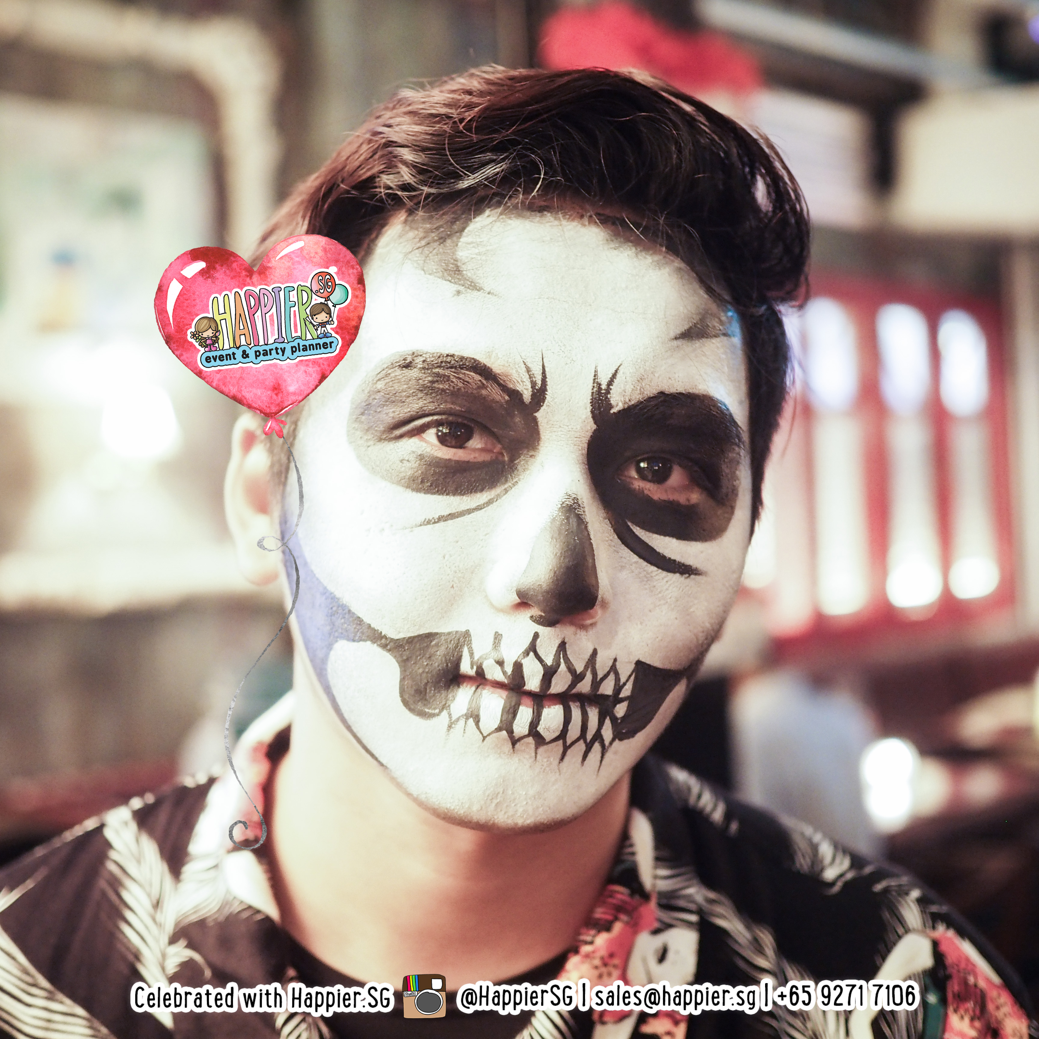Halloween Makeup Artist Special Effects Face Paint