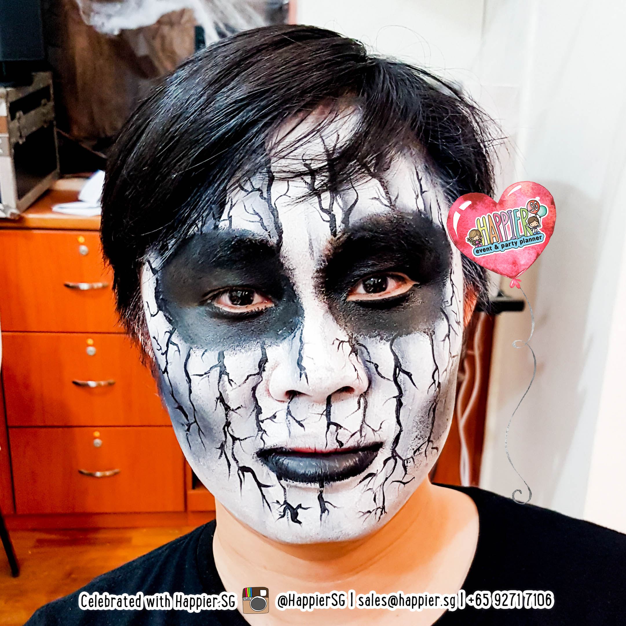 Halloween Makeup Artist Special Effects Face Paint - Halloween-face-makeup