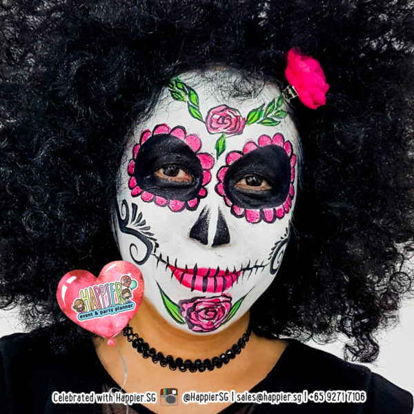 Halloween Face Paint Makeup Artist