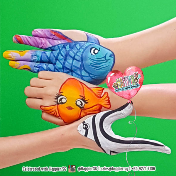 Hand Art Painting Makeup Artist