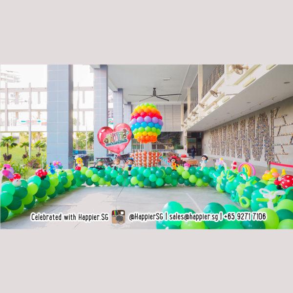 Hot Air Balloon Landscape Decoration