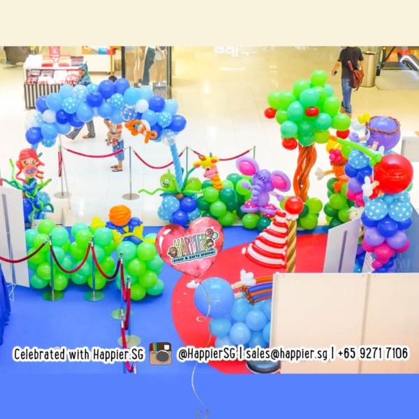 Mall Activation Balloon Decoration