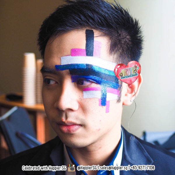 Masquerade Face Paint Makeup Artist Singapore