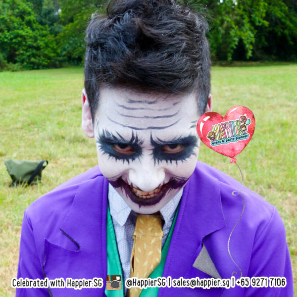 Joker Face Paint Makeup Artist