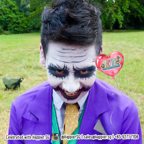 Joker Face Paint Makeup Artist