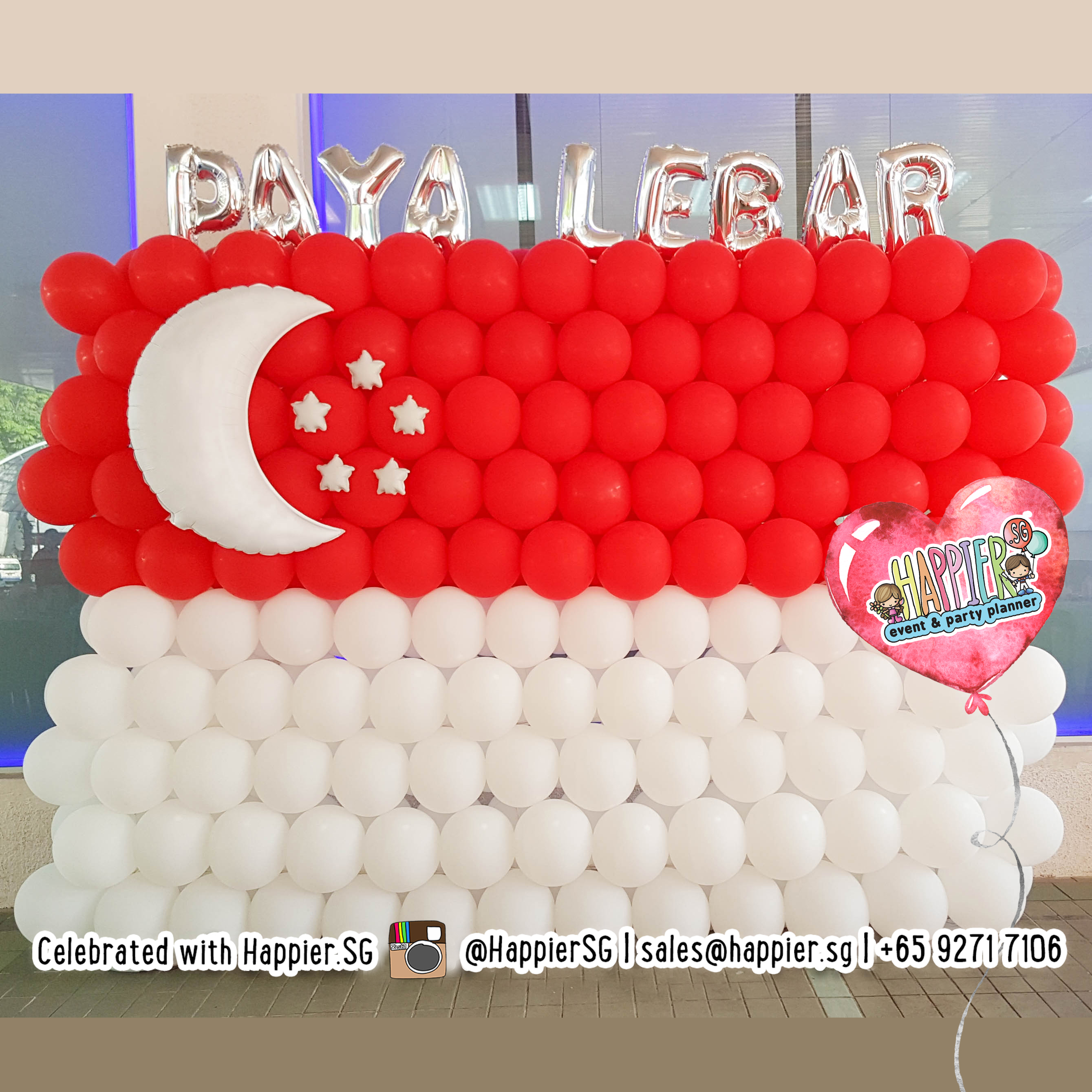 NDP National Day Balloon Decoration