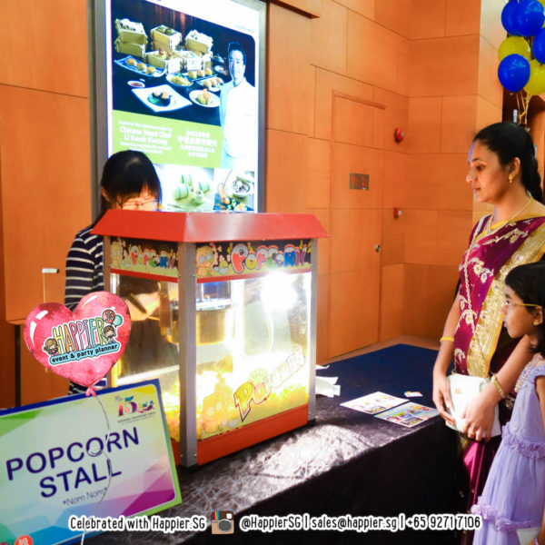 Popcorn Machine Rental Singapore