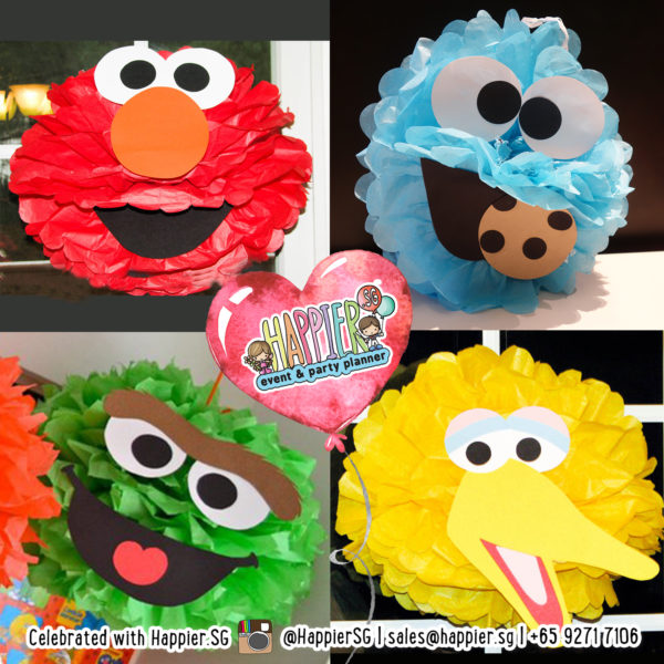 Sesame Street Party Crafts