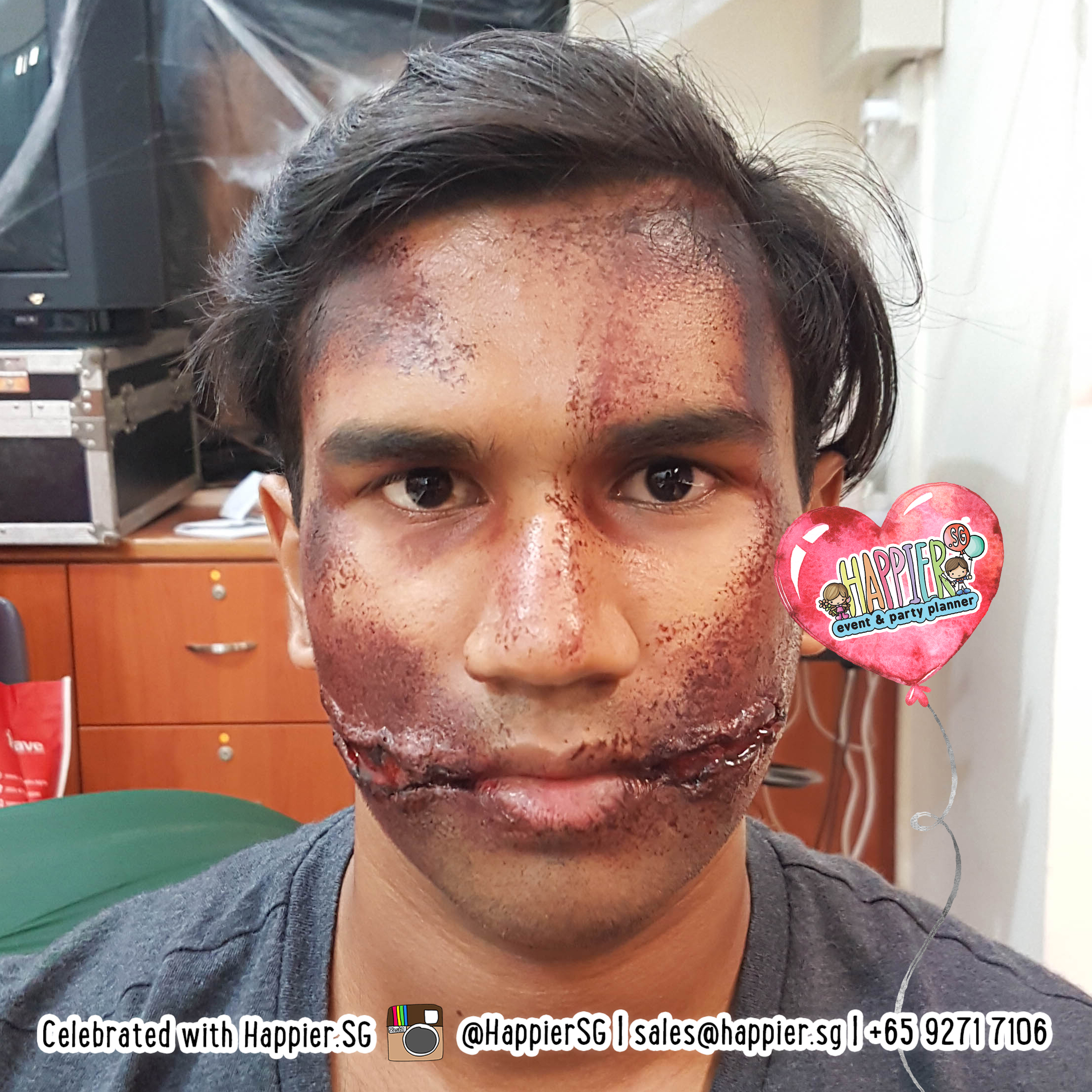 Paint Booth Rental >> Special Effects Makeup | Special FX Makeup Artist | Happier Singapore