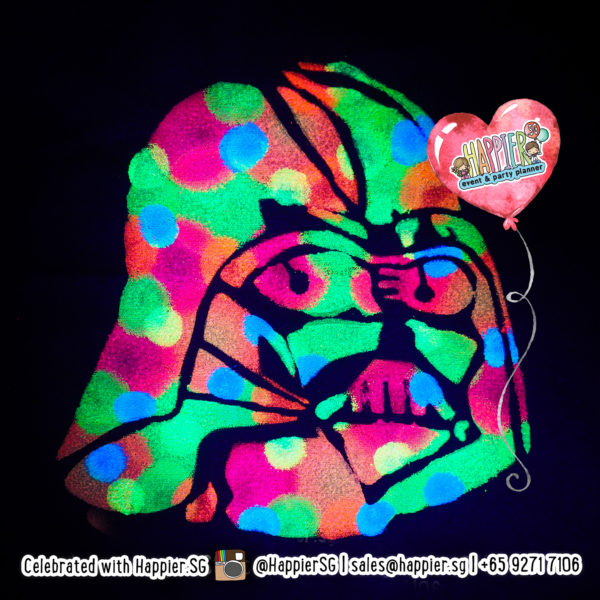 Neon Tote Bag Painting | Glow in the Dark Canvas Bag Painting