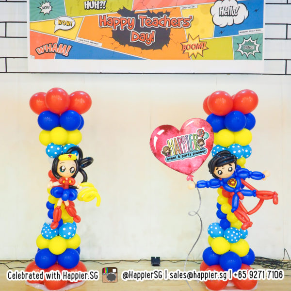 Teachers' Day Balloon Decoration