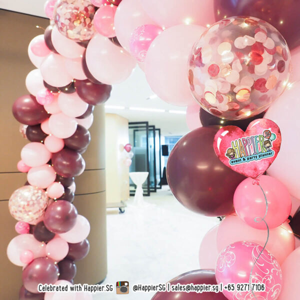 Teens birthday party balloon decoration