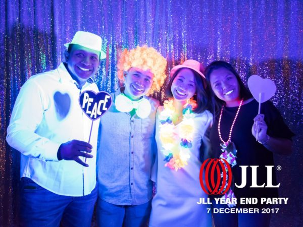 UV Glow in the Dark Photo Booth Singapore