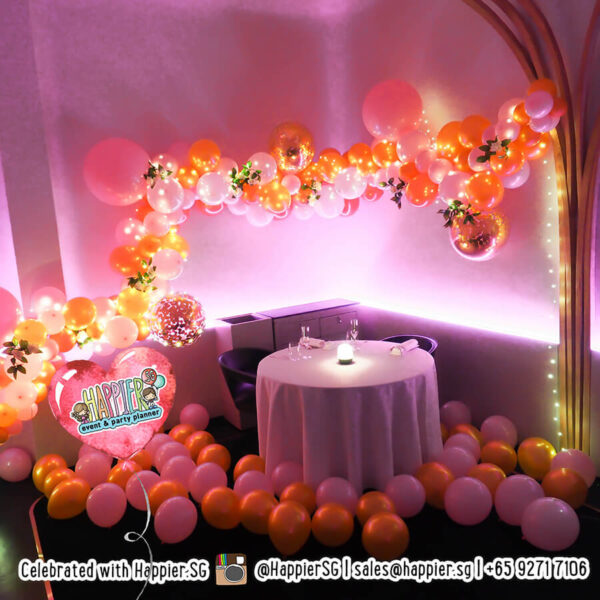 Wedding Proposal Balloon Decoration