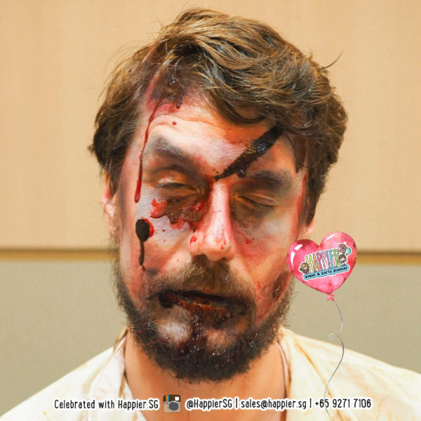 Zombie Face Paint Makeup Artist