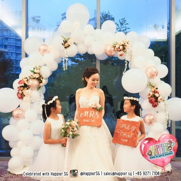 Singapore Wedding Decoration Packages