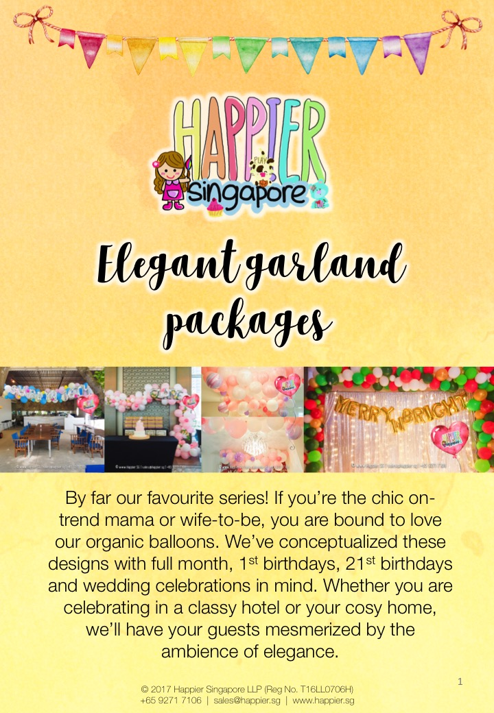 Birthday Party Decoration Packages