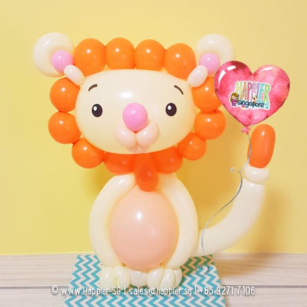 Baby-lion-balloon-sculpture-decoration
