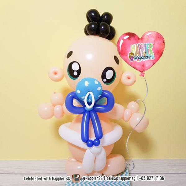 Baby-shower-balloon-sculpture-decoration