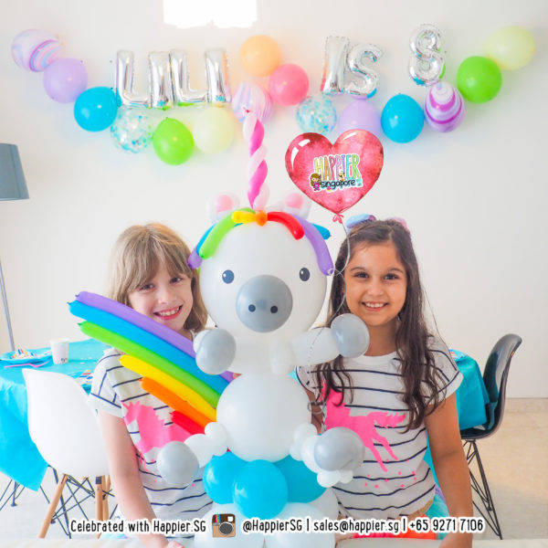 Birthday balloon decoration bunting package