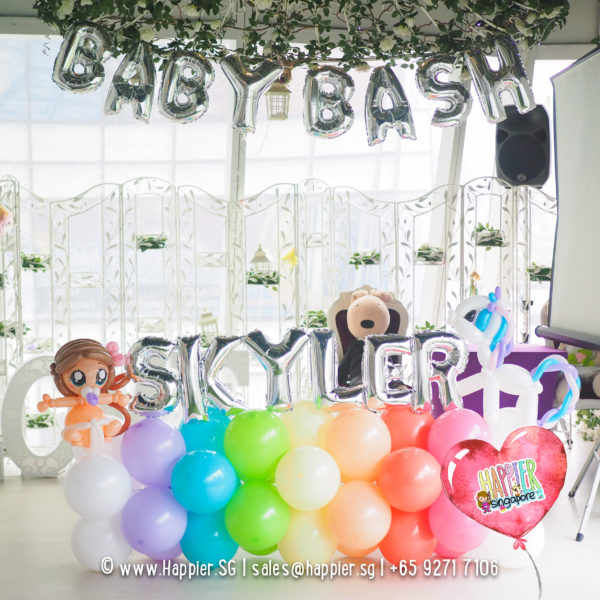 Birthday balloon decoration landscape package 2