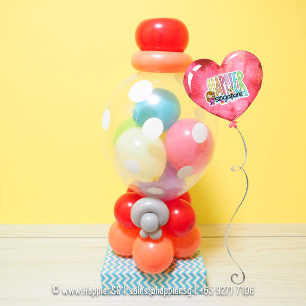 Candy-gumball-machine-balloon-sculpture-decoration