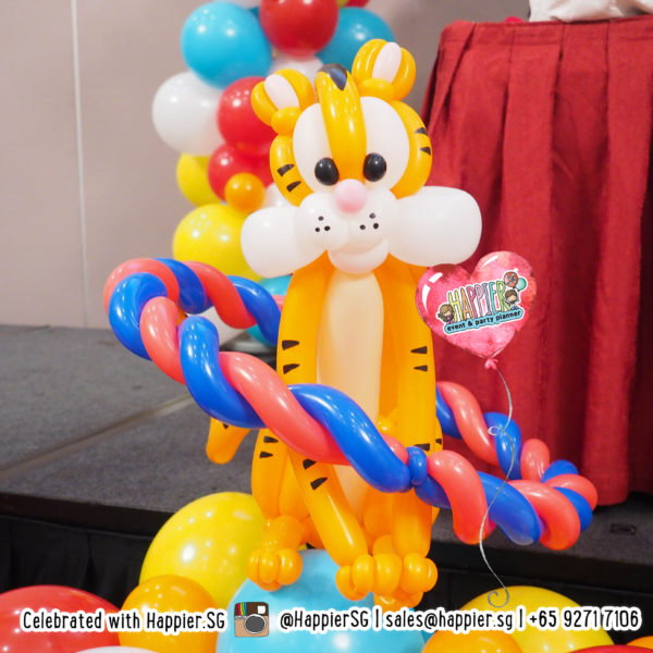 Carnival-circus-tiger-balloon-sculpture-decoration