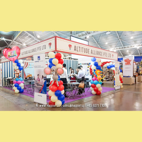 Circus-animals-carnival-balloon-column-decoration