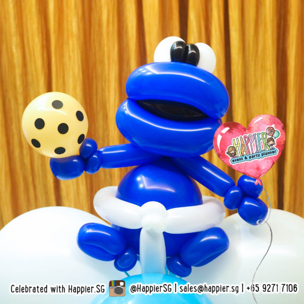 Cookie monster Balloon Sculpture
