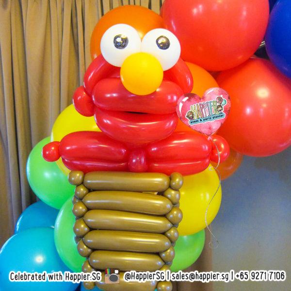 Elmo-Balloon-Sculpture-decoration