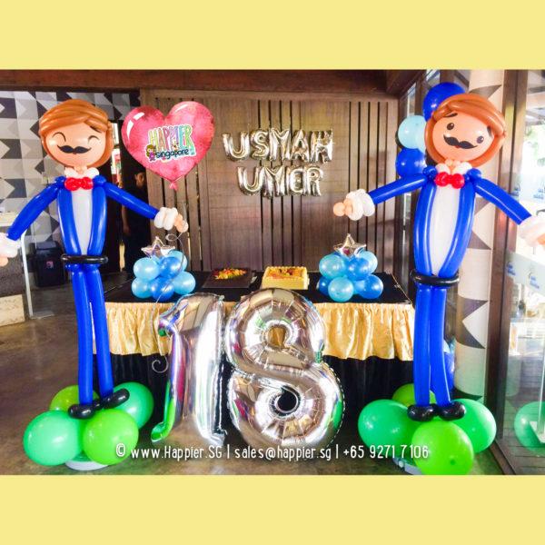 Life-size-boy-balloon-sculpture-decoration