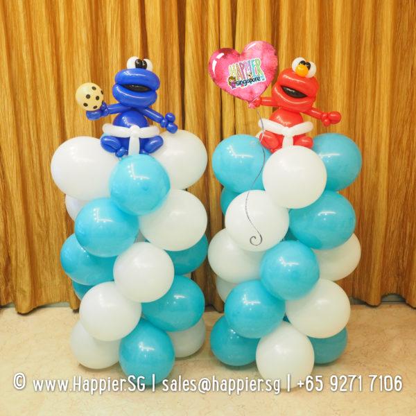 Sesame-Street-Balloon-Columns-Pillars