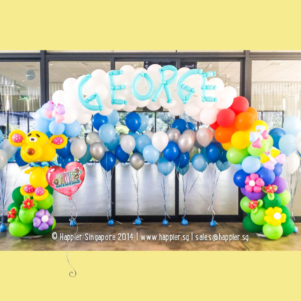 Teddy-bear-balloon-arch-decoration
